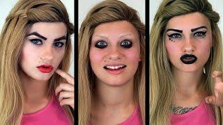 getlinkyoutube.com-How I Used To Do My Makeup (MIDDLE & HIGHSCHOOL) | HeyThereImShannon