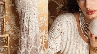 getlinkyoutube.com-#1 Wedding Dress, Vogue Knitting Fall 2012
