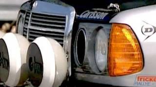 getlinkyoutube.com-Tracktest: Mercedes 280CE als Rallyeauto Dieser Mercedes C12