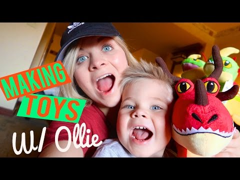MAKING TOYS WITH OLLIE! - // SoCassie