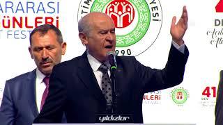 MHP Genel Başkanı Bahçeli: Türkiye saldırılara karşı tek yumruktur
