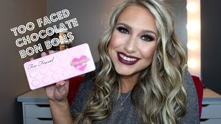 getlinkyoutube.com-HOT OR NOT? TOO FACED CHOCOLATE BON BONS REVIEW & DEMO