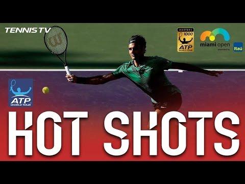 Federer Soft Hands Hot Shot Miami 2017