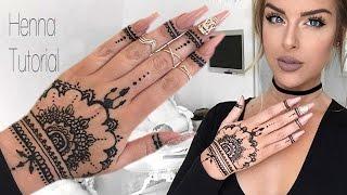 getlinkyoutube.com-How To: Henna Tutorial
