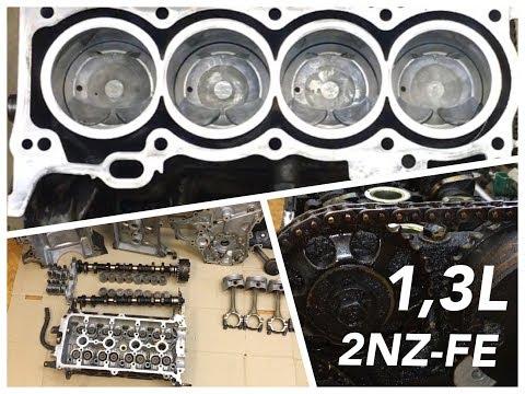 Ремонт двигателя Тойота 2nz fe