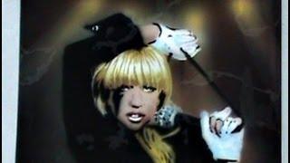 stencil airbrush lady gaga