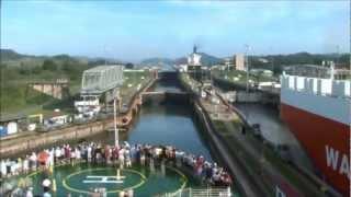 getlinkyoutube.com-Panama Canal Transit on Celebrity Infinity