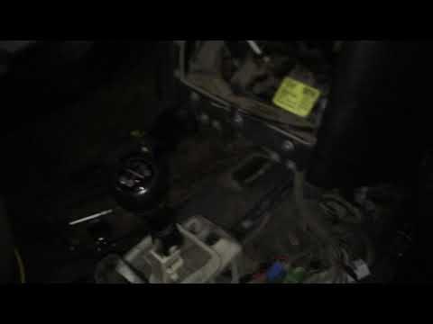 Трудности при снятии печки с Opel Astra G