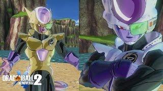 getlinkyoutube.com-Golden CaC Transformation Gameplay! | Dragon Ball Xenoverse 2 Custom Frieza Race Patroller