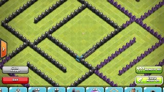 getlinkyoutube.com-Clash of Clans - 5 Top TH10 bases!