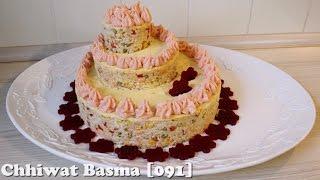 getlinkyoutube.com-Chhiwat Basma [091] - إبداع: سلطة الأرز على شكل طورطة