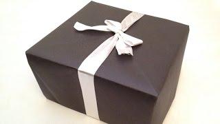 getlinkyoutube.com-Kağıttan Kolay Kutu Yapımı