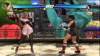 getlinkyoutube.com-Tekken Tag Tournament 2 - Online Match - Ice_Beam (Lili/Asuka) vs RIDEKINK (Asuka/Jun)