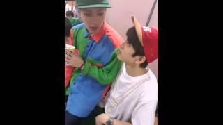 getlinkyoutube.com-[ENGSUB] 150814 GOT7 NOW - Jealous Junior & Fluent in Korean Jackson
