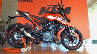 getlinkyoutube.com-KTM Duke 250 First Look, Walkaround, Exhaust Note, All You Need to Know