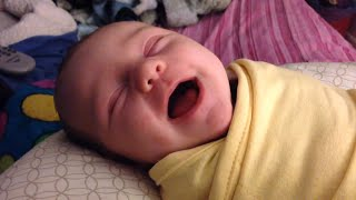 getlinkyoutube.com-Cute Babies Laughing While Sleeping Compilation 2014