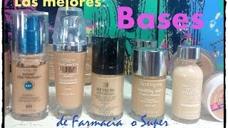 getlinkyoutube.com-Las Mejores Bases de Maquillaje Farmacia o super / Alicia Borchardt