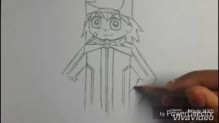 getlinkyoutube.com-How to Draw Brick From Rowdyruff Boys Z