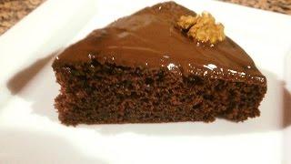 getlinkyoutube.com-كيك بدون دقيق مثل القطن روعة في المذاق واقتصادية جدا كيكة الشوكولاته مع طبخ يسرى