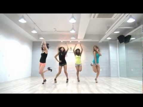 Sistar - So Cool mirrored dance practice