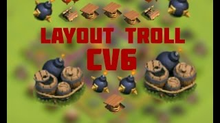 Layout troll para CV6/TH6
