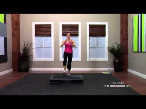 Step aerobics beginner workout with Dana - 30 Minutes