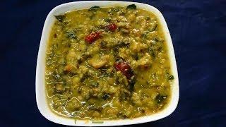 getlinkyoutube.com-Dal Methi Pappu Menthi Koora in Telugu (సులభంగా పప్పు మెంతికూర)