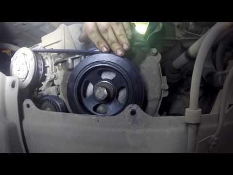 Замена сальника коленвала  Mitsubishi Outlander XL 2.4 автомат
