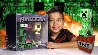 getlinkyoutube.com-Minecraft CREEPER ANATOMY Deluxe Vinyl Figure