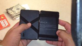 getlinkyoutube.com-Rvca magic wallet review