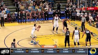 getlinkyoutube.com-NBA2K16 Warriors vs Spurs Online (PS4)