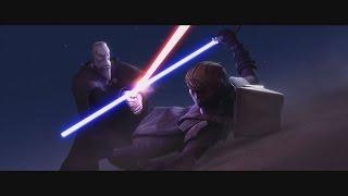 getlinkyoutube.com-Star Wars: The Clone Wars - Anakin Skywalker vs. Count Dooku [1080p]
