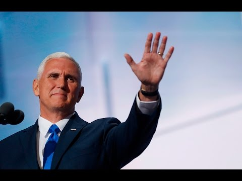 Watch Vice Presidential nominee Mike Pence's full speech at the 2016 Republican National Convention