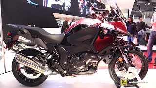 getlinkyoutube.com-2016 Honda Crosstourer DCT 1250 - Walkaround - Debut at 2015 EICMA Milan