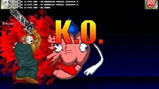 getlinkyoutube.com-[MUGEN] I hate gurospooo!