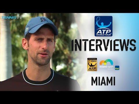 Djokovic Finding New Inspiration In Miami 2018