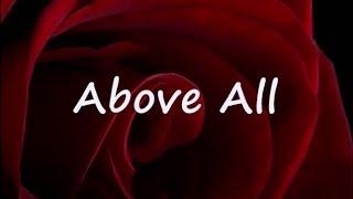 getlinkyoutube.com-ABOVE ALL by Michael W Smith Lyrics