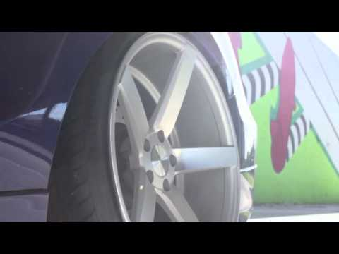 Teaser - Honda Accord on 20&quot; Vossen VVS-CV3 Concave Wheels / Rims