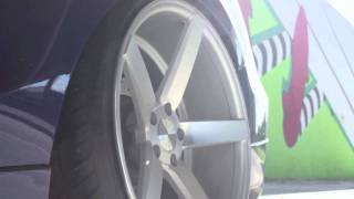 "getlinkyoutube.com-Teaser - Honda Accord on 20"" Vossen VVS-CV3 Concave Wheels / Rims"