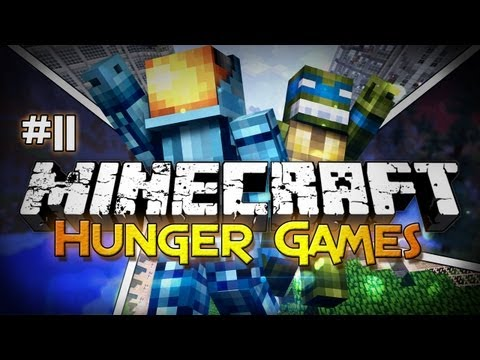 Minecraft: Hunger Games #11 - Friends Are a Good Thing!
