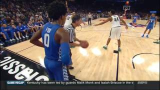 getlinkyoutube.com-(NCAAM) #2 Kentucky Wildcats at #13 Michigan State Spartans in 20 Minutes - 11/15/16