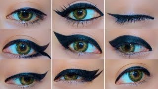 getlinkyoutube.com-9 Different Eyeliner Looks