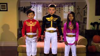 getlinkyoutube.com-Power Rangers | Power Rangers Megaforce: MEGA Halloween Safety!