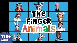 getlinkyoutube.com-Finger Animals Song (part 2) | Nursery Rhymes | Kids Songs | Baby Songs