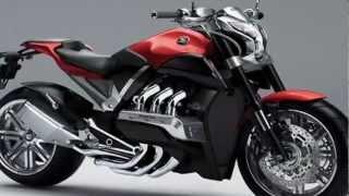 Honda EVO 6 Concept Muscle Bike