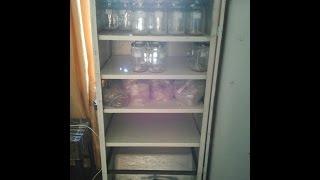 getlinkyoutube.com-Шкаф для выращивания мицелия (cupboard for growing mycelium)