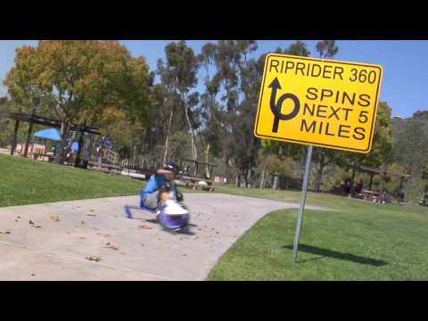 Razor Rip Rider 360 Drifting Trike - Blue
