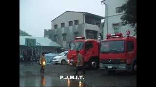 getlinkyoutube.com-Taiwan Fire Emergency Vehicle / 後湖消防隊緊急走行   出場‧返隊‧救護