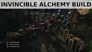 getlinkyoutube.com-Witcher 3 - Invincible God Mode Alchemy Build