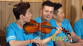 "getlinkyoutube.com-헨리 (Henry) is playing ""Fantastic"" + ""La Campanella"" on violin"
